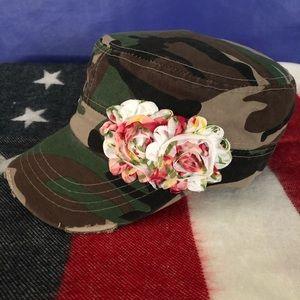 Camouflage Vintage Cadet Hat